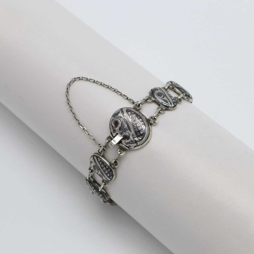 Russisches Armband in Tulasilber